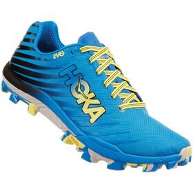 Hoka One One Evojawz Running Shoes Men cyan citrus d1d9ce8a4444f